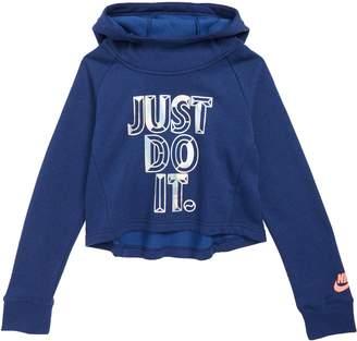 Nike JDI Crop Hoodie