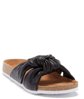 Susina Ginger Knotted Footbed Sandal
