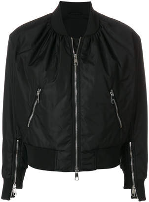 Neil Barrett zipped bomber jacket