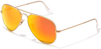 Ray-Ban Unisex Rb 3025 58Mm Aviator Sunglasses