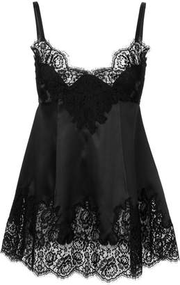 Dolce & Gabbana lace insert cami top