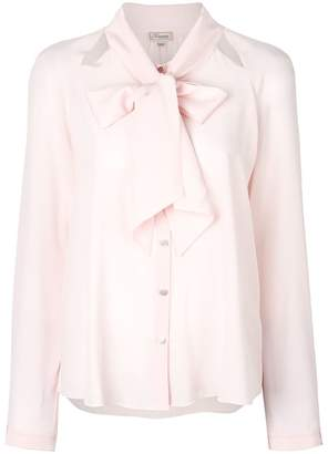 Temperley London Purity Bow Shirt