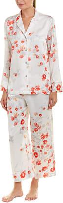 Natori Blossom 2Pc Pajama Pant Set