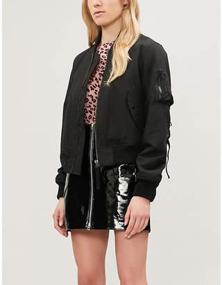 Rag & Bone Heidi zip-up patent leather skirt