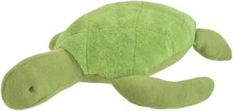 "Under the Nile Unisex Baby Toy Sal the Sea Turtle Stuffed Animal 10"" Organic Cotton"