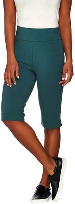 Logo By Lori Goldstein LOGO Layers by Lori Goldstein Petite Pull-On Knit Bermuda Shorts