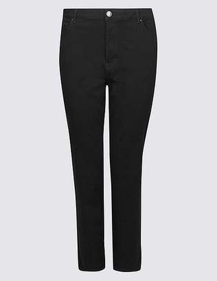 Marks and Spencer CURVE 360 Contour High Waist Straight Jeans