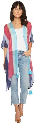 Steve Madden Rainbow By The Sea Boho Topper Women's Clothing