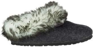 Birkenstock Kaprun Faux Fur Narrow Slipper - Women's