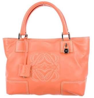 Loewe Leather Amazona Bag