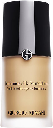 Armani Women's Luminous Silk Foundation $64 thestylecure.com