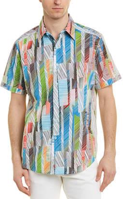 Robert Graham Sand Dollar Woven Shirt