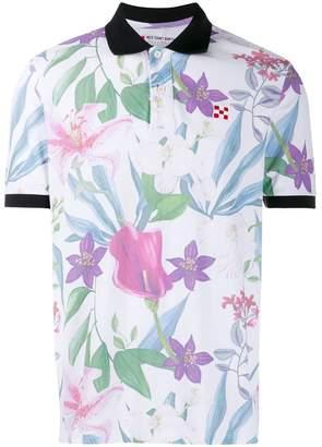 MC2 Saint Barth floral print polo shirt