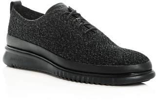 Cole Haan Men's 2.ZeroGrand Stitchlite Knit Plain Toe Oxfords