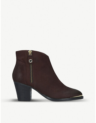 Steve Madden Francy faded leather ankle boots