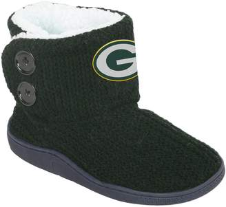 Women's Green Bay Packers Knit Button Boots