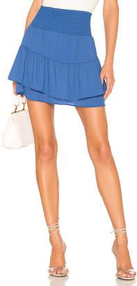 Krisa X REVOLVE Smocked Skirt