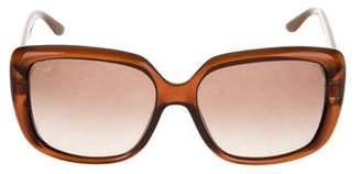 Gucci Oversize Gradient Sunglasses