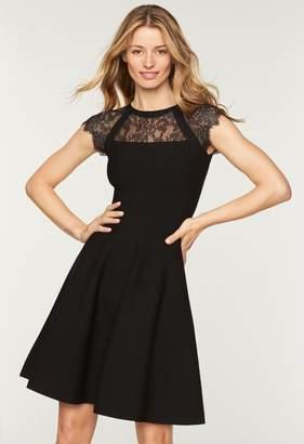 MillyMilly Lace Yoke Flare Dress