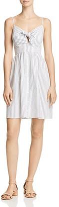 AQUA Striped Tie-Accent Dress - 100% Exclusive $78 thestylecure.com