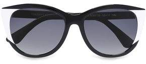 Thierry Lasry Cat-Eye Two-Tone Acetate Sunglasses