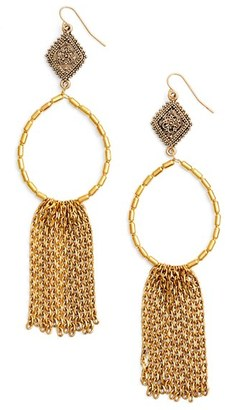 Women's Vanessa Mooney Tassel Drop Earrings $100 thestylecure.com