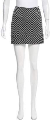 Trina Turk Patterned Mini Skirt