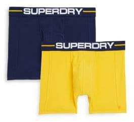 Superdry Three-Pack Logo Boxer Briefs