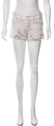 J Brand Floral Mini Shorts