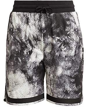 0d1c4608bd9 Madison Supply Men's Active Tie-Dyed Basketball Shorts