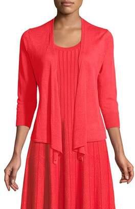 Nic+Zoe 4-Way Linen-Blend Knit Cardigan Sweater, Plus Size