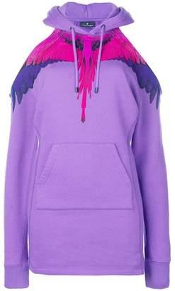 Marcelo Burlon County of Milan off shoulder wings hoodie
