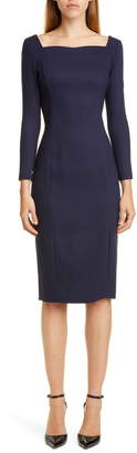 ADAM by Adam Lippes Double Face Sheath Dress