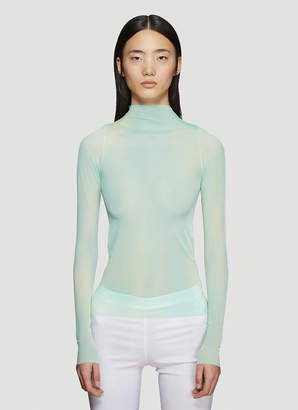 Collina Strada Cardio Nova Tie-Dye Long Sleeve Top in Green