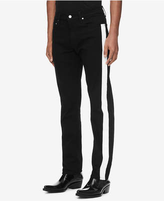 Calvin Klein Jeans Men Slim-Fit Side Stripe Jeans