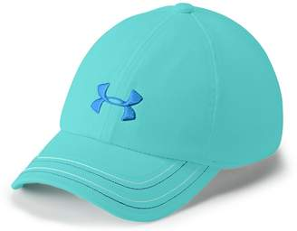 Under Armour Girls 4-16 Logo Free Fit Cap