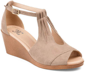 Journee Collection Womens Jc Kedzie Wedge Sandals