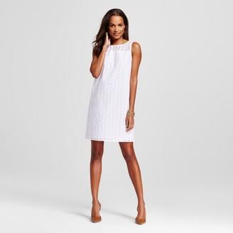 Merona Women's Eyelet Shift Dress $29.99 thestylecure.com