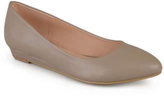 Journee Collection Womens Ballet Flats Slip-on Round Toe
