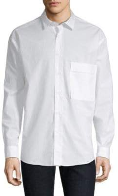HUGO Relaxed Fit Button-Down
