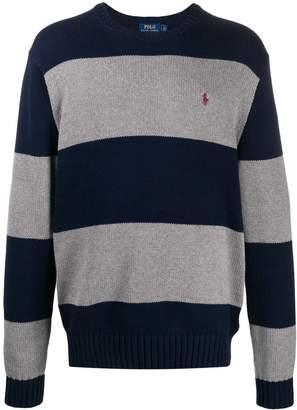 block knit jumper