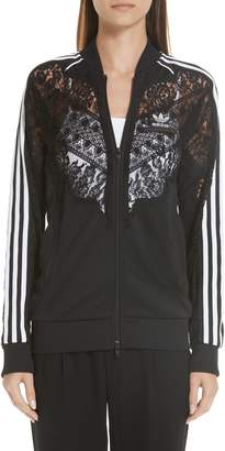 Stella McCartney Lace Inset adidas Track Jacket