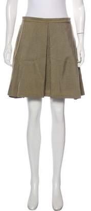 Kenzo Mini Box Pleat Skirt