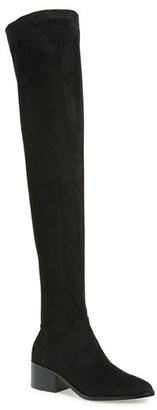 Women's Steve Madden Gabriana Stretch Over The Knee Boot $129.95 thestylecure.com