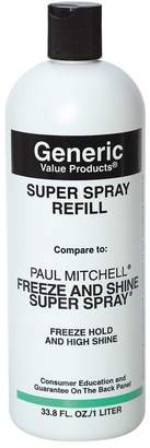 Paul Mitchell Generic Value Products Super Spray Compare to Freeze and Shine Super Spray