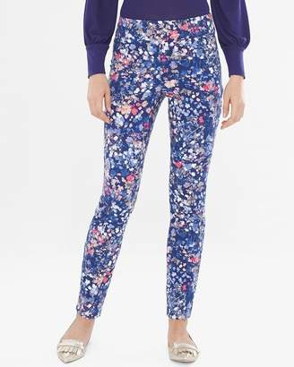 Chico's Chicos Petal-Print Pull-On Jeggings