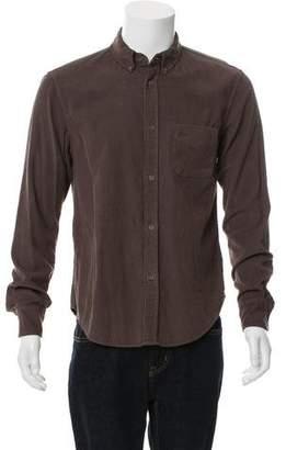 Band Of Outsiders Corduroy Woven Shirt