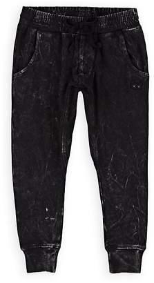 Munster Kids' Spillage Acid-Washed Cotton Pants
