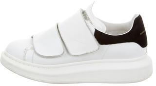 Alexander McQueenAlexander McQueen Leather Platform Sneakers