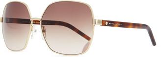 Marc Jacobs Square Metal Sunglasses